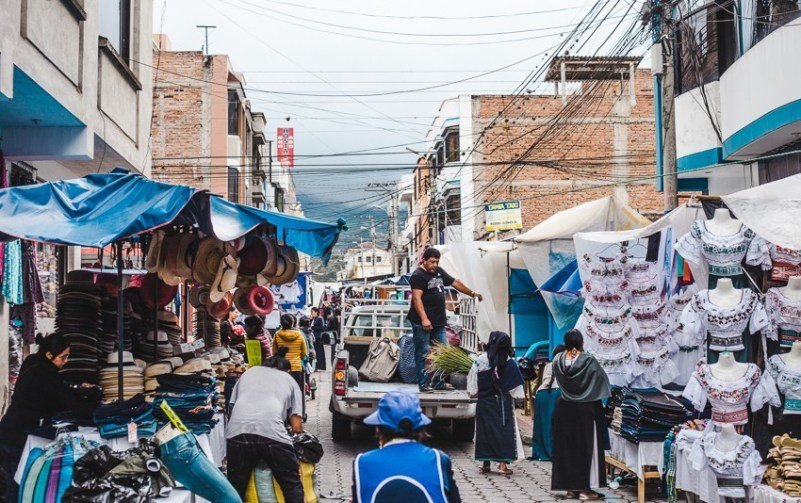 market otavalo best places to visit in ecuador backpacking