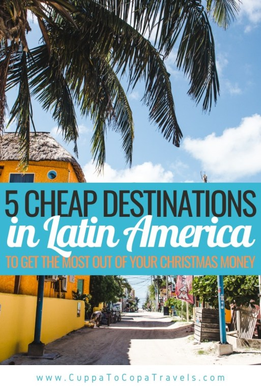 5 cheap destinations in latin america travel 2021