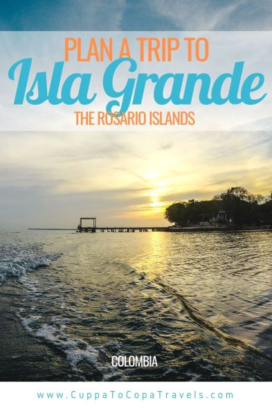 pin boat tours from cartagena to isla baru and rosario islands colombia