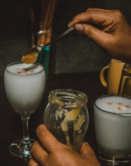 south american drinks - pisco sour in peru