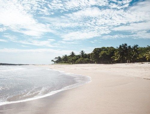 best central american beaches: playa santa teresa costa rica