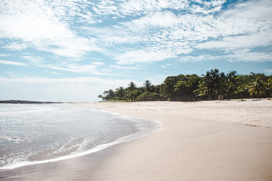 best central american beaches: playa santa teresa costa rica
