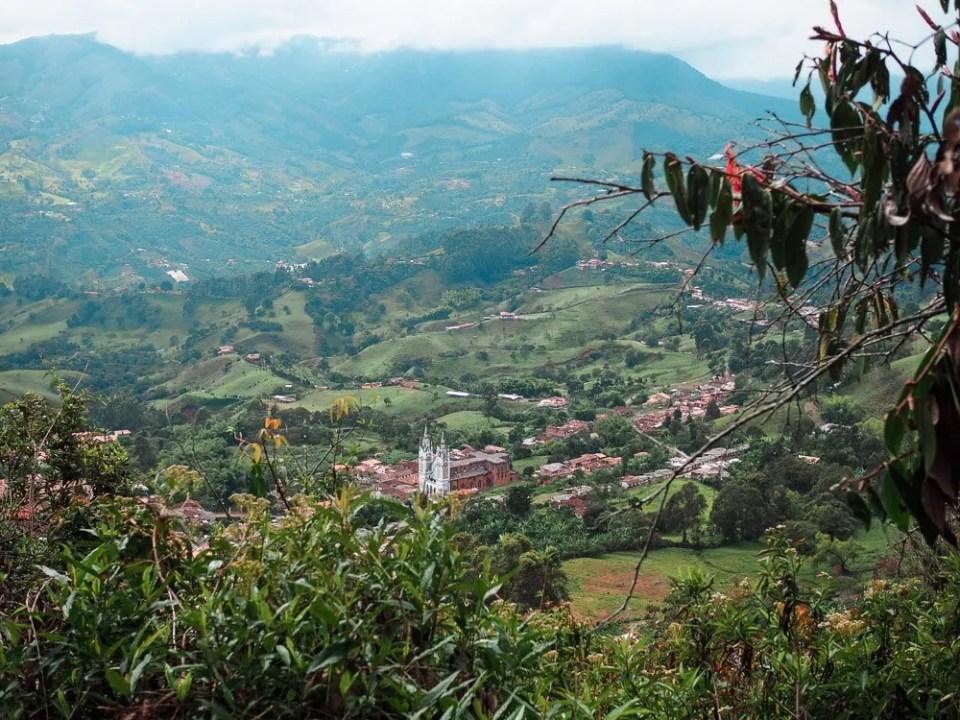 jerico cerro de las nubes hiking colombia