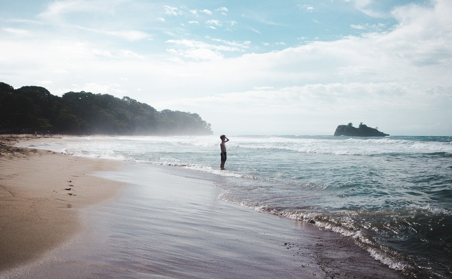 puerto viejo playa cocles beach: 2 weeks in costa rica itinerary