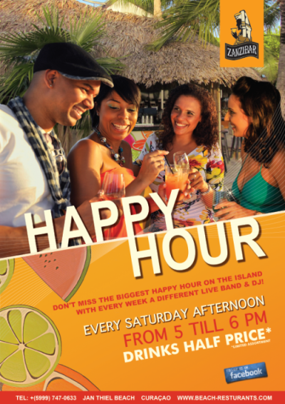 Happy Hour Zanzibar Curacao