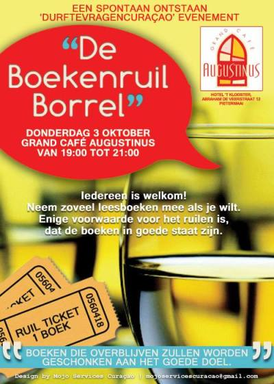 Boekenruil Borrel at Augustinus