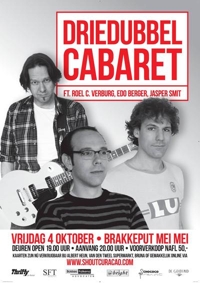 Driedubbel Cabaret at Brakkeput Mei Mei
