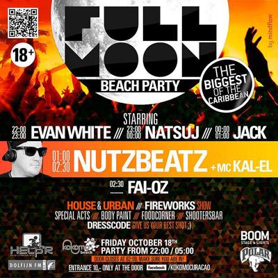 Full Moon Party Curacao