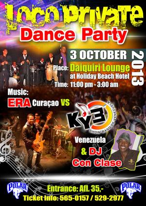 Loco Private Dance Party