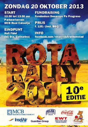 Rotarally 2013 Curacao