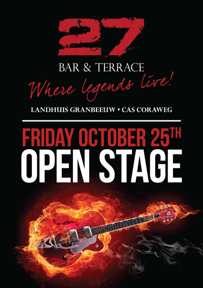 Open Stage at 27 Curacao