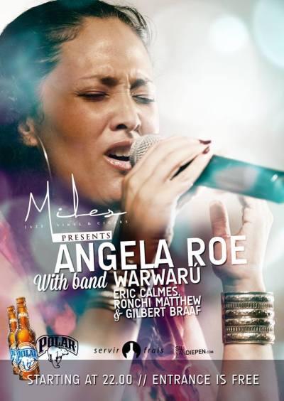 Angela Roe & Warwaru at Miles Curacao