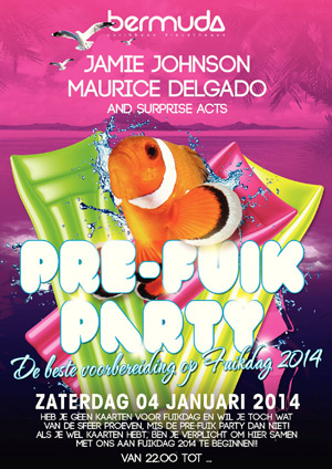 Pre Fuik Party at Bermuda Curacao