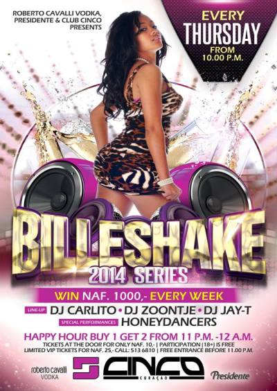 Billeshake Twerk Contest Cinco Curacao