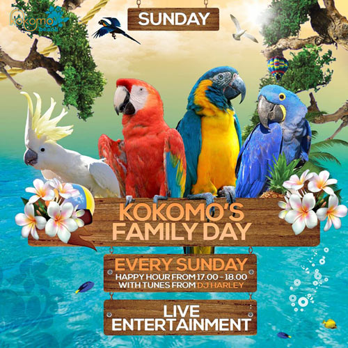 Kokomo Family Day at Kokomo Beach Curacao