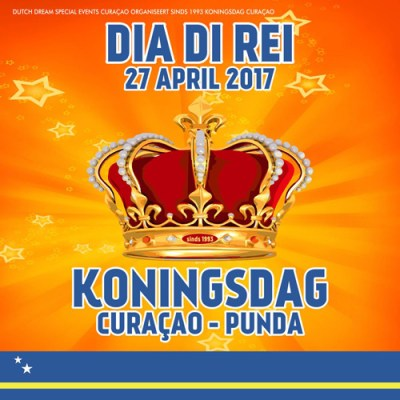 Kings Day Punda 2017 in Willemstad Curacao