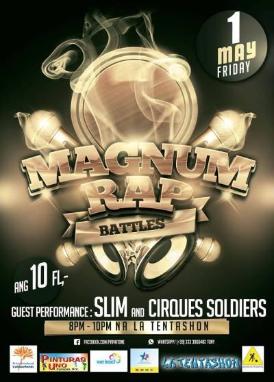 Magnum Rap Battles at La Tentashon Curacao