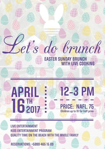 Easter Brunch at Cabana Beach Curacao