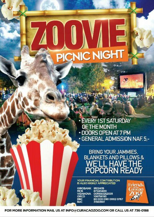 Zoovie Picnic NIght at the Zoo Curacao
