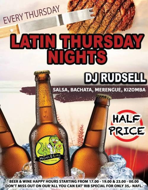 Latin Thursdays at Mojitos and Bites Curacao