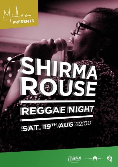 Shirma Rouse Reggae Night at Miles Jazz Cafe Curacao