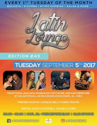 Latin Lounge at Club Spoonz Curacao