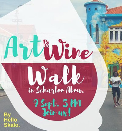 Skalo Art and Wine Walk Curacao