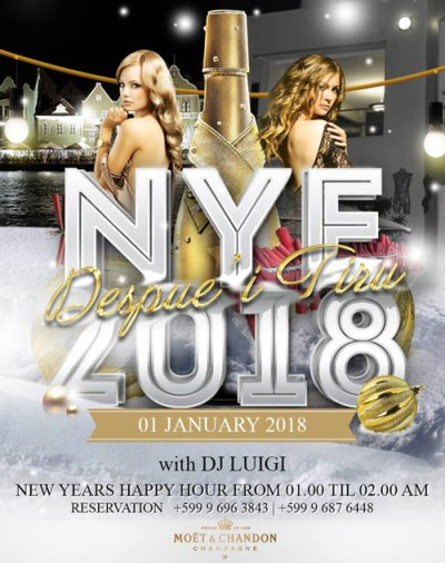New Years Eve at Emporio Curacao