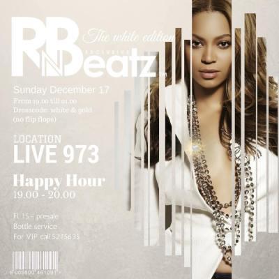 RnBeatz White at Club Live 973 Curacao