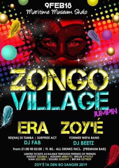 Zongo Village Jump-in at Maritime Museum Curacao