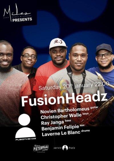 Fusionheadz at Miles Jazz cafe Curacao
