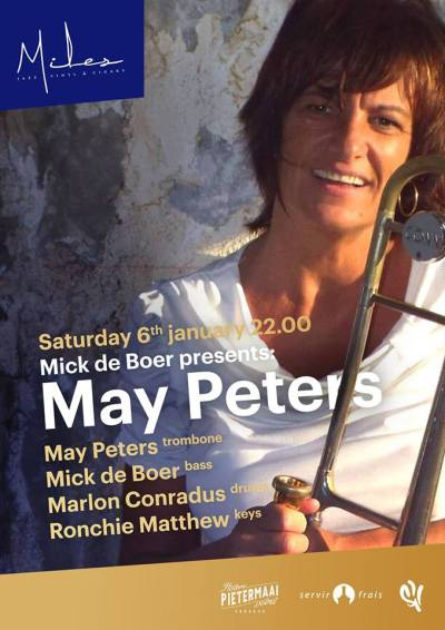 May Peters at Miles Jazz Cafe Curacao