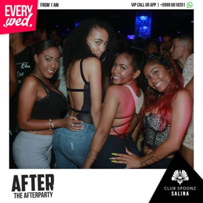After Party at Club Spoonz Curacao