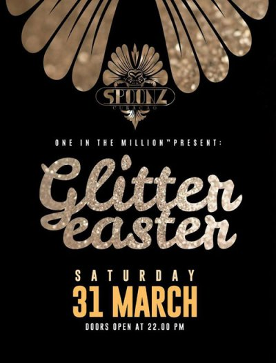 Glitter Easter at Club Spoonz Curacao