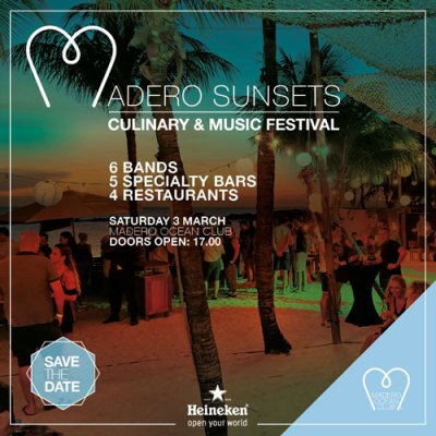 Bands of Curacao at Madero Ocean Club Curacao