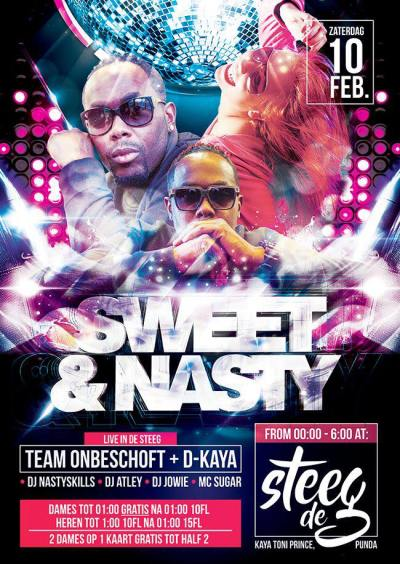 Sweet and Nasty with Team Onbeschoft at De Steeg Curacao