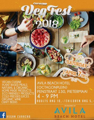 Vegan Festival 2018 at Avila Beacch Hotel Curacao