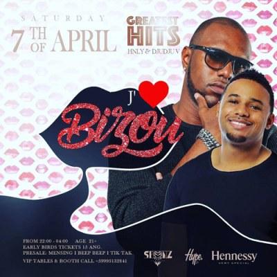 Bizou at Club Spoonz Curacao