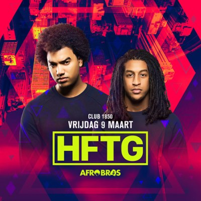 HFTG with Afrobros at Club 1850 Curacao