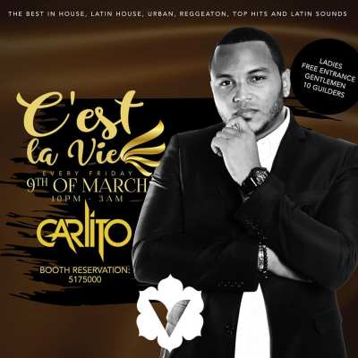 C est la vie with Carlito at Club Vanilla Curacao