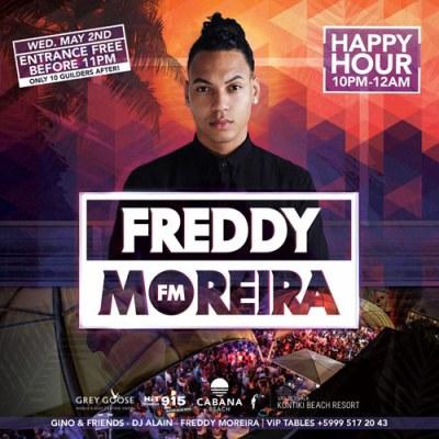 Freddy Moreira at Cabana Beach Curacao