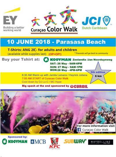 Curacao Color Walk 2018