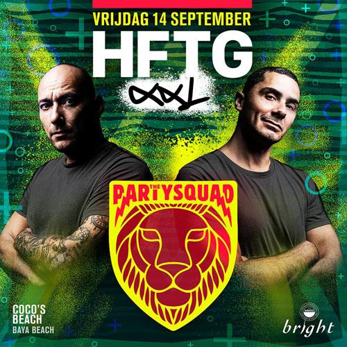 HFTG XXL ft The Partysquad at Baya Beach Curacao