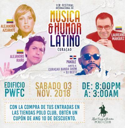 Musica y Humor Latino Curacao at Sambil Curacao
