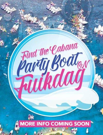 Cabana Beach goes Fuikdag at Fuik Bay Curacao