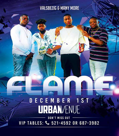 Flame at Urban Venue Curacao