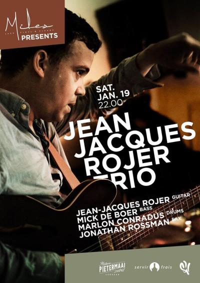 Jean-Jacques Rojer Quartet at Miles Jazz Cafe Curacao