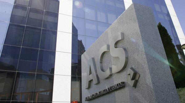 La triste despedida de Cobra en ACS: un 10% menos de ingresos