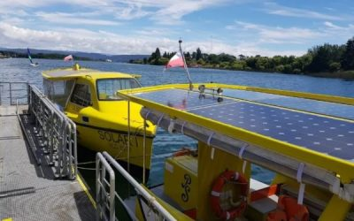 Este lunes inicia sus recorridos el servicio de transporte público fluvial de Valdivia