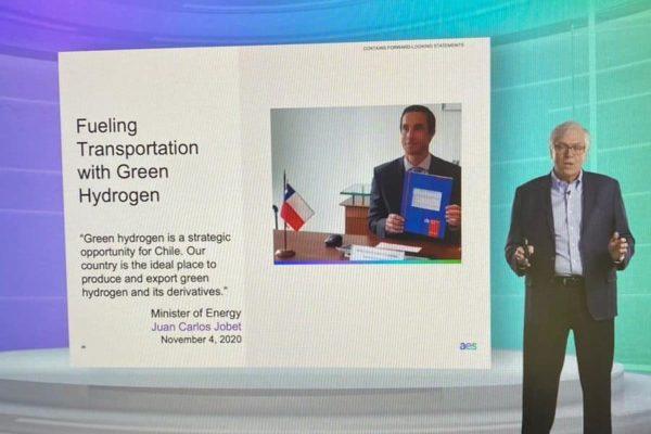 AES Gener anuncia su primer proyecto de hidrógeno verde en Chile